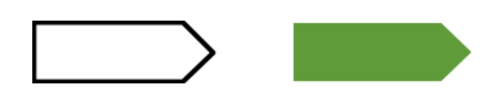 panneau flèche direction