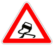 Panneau-danger-chaussee-glissante-verglas