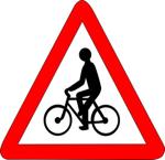 Panneau-de-danger-presence-cyclistes