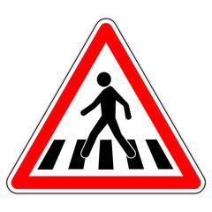 Panneau-danger-passage-pieton