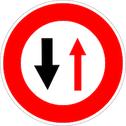 Panneau-circulation-alternee