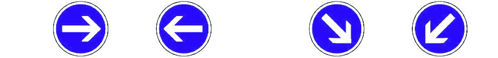 Panneau-obligation-direction-amont